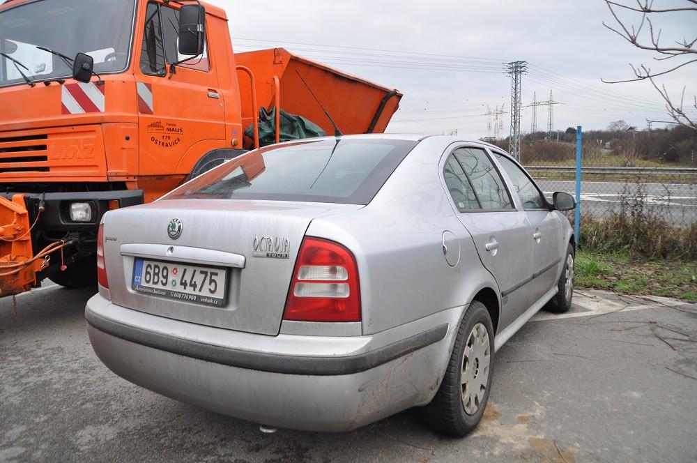 Škoda Octavia 1