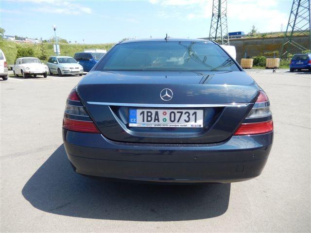 Půjčovna vozu Mercedes-Benz S 320 CDI long 3,2 CDI