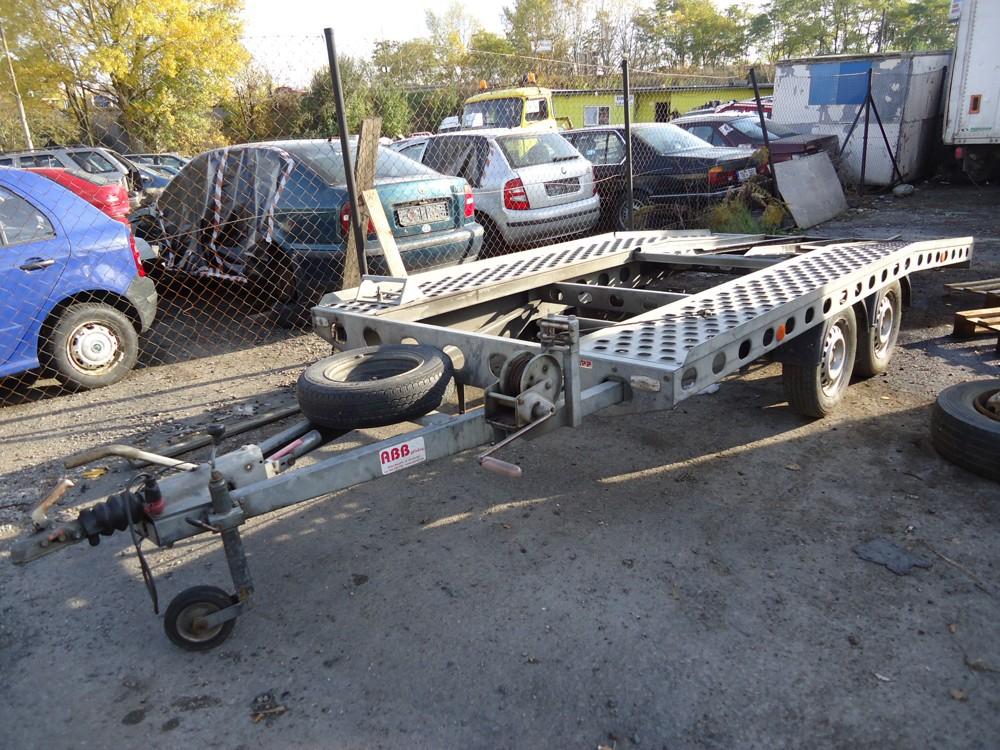 hengr na odvoz vozidel - celková hmotnost 2 t - bržděný