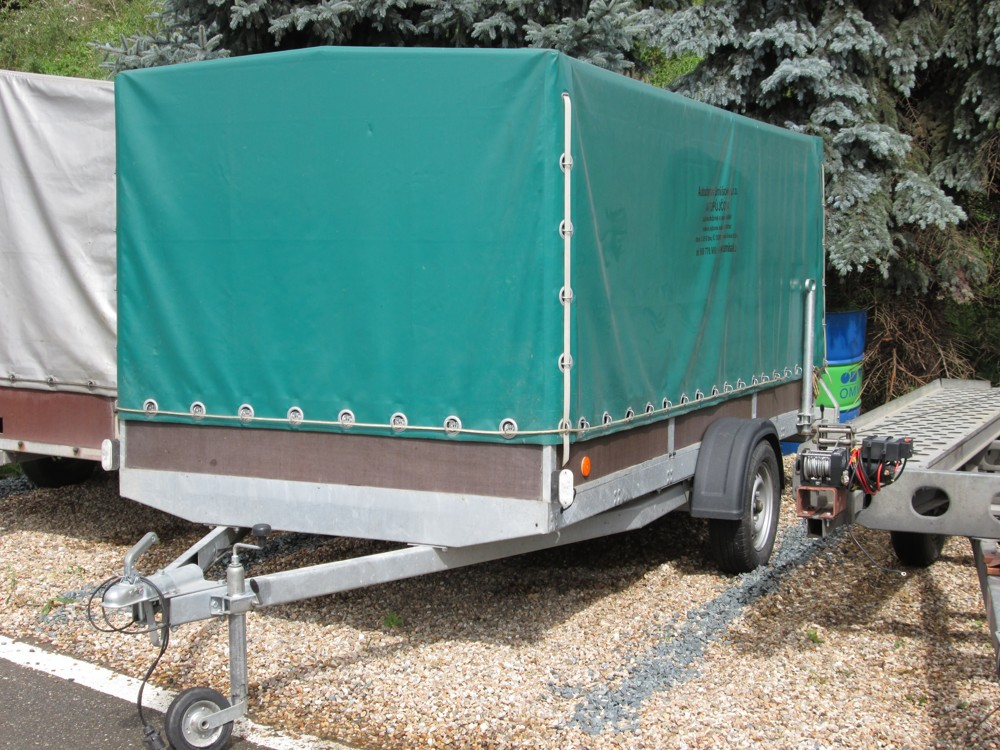 Vozík plachotový 3,5 m dlouhý