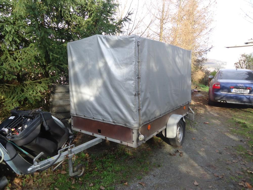 vozík plachtový 125x200 cm