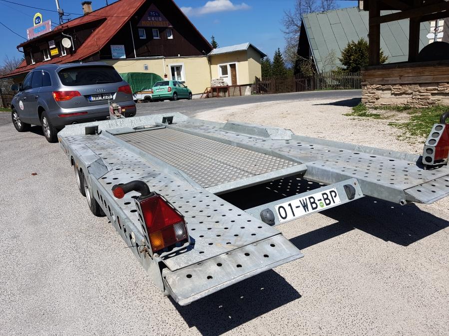 Autopřepravník 3,5 tuny